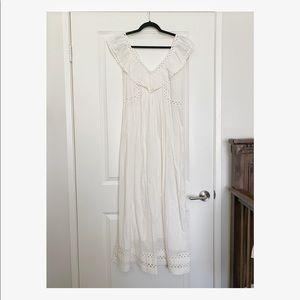 Sezane Cotton Summer Dress